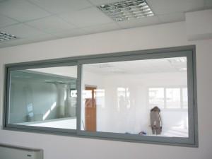 Scorrevole interno in alluminio