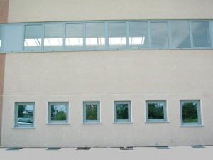 Serie di finestre e nastro