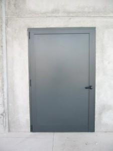 Porta in alluminio esterna
